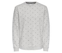 Sweatshirt schwarz / grau