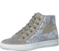 Sneaker 'High' gold / silber