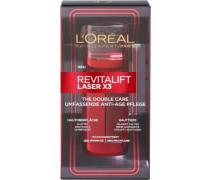 'RevitaLift Laser X3 Double Care Serum' Gesichtspflege rubinrot