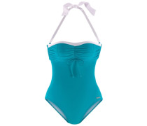 Bügel-Badeanzug blau