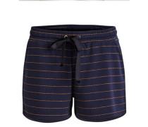 Shorts Sweat- blau