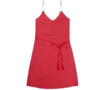 "Kleid ""thdw Basic A-Line Dress S/L 23"" karminrot"