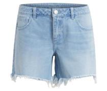 Jeans-Shorts 'viclean Denim Shorts' blau / hellblau