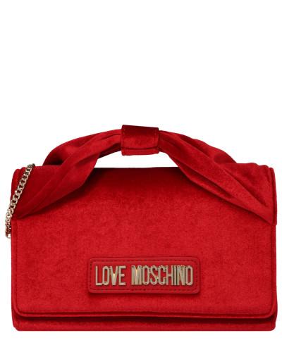 Tasche 'borsa Velvet Rosso' rot