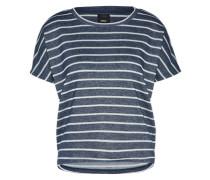 T-Shirt 'Onlcappy' navy / weiß
