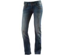 Straight Fit Jeans 'Jonquil' blau
