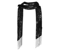 Schal mit Pailletten 'Venecke' schwarz