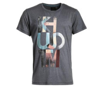Shirt Umito blau / grau
