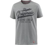T-Shirt Herren graumeliert