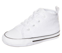 'Chuck Taylor First Star High' Sneaker weiß