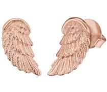 Paar Ohrstecker 'Flügel Ere-Wing-Str' rosegold