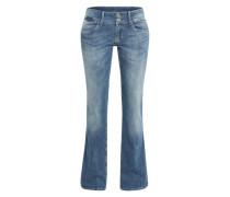 Flared Jeans 'Grace' blau