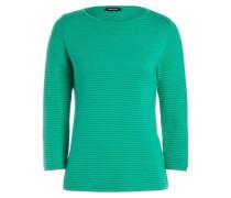 Ottoman-Pullover grün