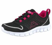 Sneaker Amora neonpink / schwarz