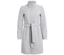 Klassischer Woll Mantel 'vibee Wool Coat' grau