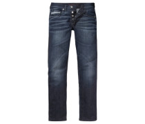 Straight-Jeans blue denim