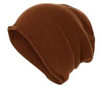 Kaschmir Mütze braun