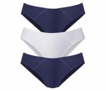Slip (3 Stück) marine / weiß