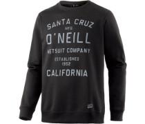 Type Sweatshirt schwarz
