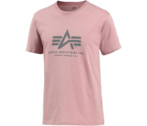 Print-Shirt rosa