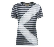 Shirt 'Targu' blau / grau
