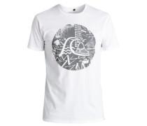 T-Shirt »Labyrinth Logo« grau / weiß