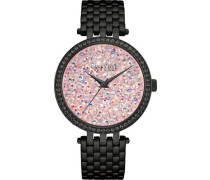 Armbanduhr »Crystal Rock« schwarz