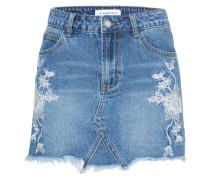 'ac1537' Jeans Rock blau
