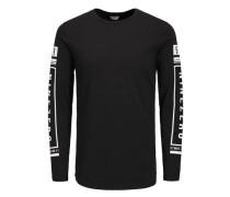 Länger geschnittenes T-Shirt mit langen Ärmeln