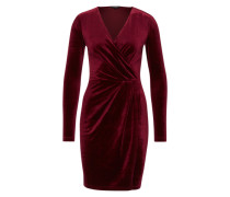 Samtkleid 'Madena' bordeaux
