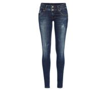 'julita X' Regular Jeans dunkelblau