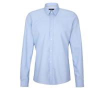 Oxford-Hemd blau
