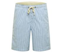 Shorts weiß / blau