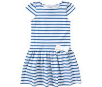 Kinder Kleid blau / weiß