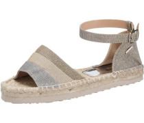 'Summer' Sandaletten silber