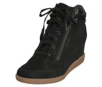 High Top Sneaker 'Blomma Zip' schwarz