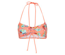 Bikini-Top 'bloomin Beach' mischfarben / pink