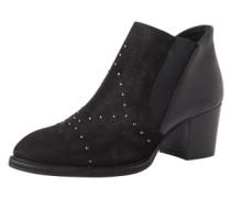 Ankle Boots mit Ziernieten 'Bine' schwarz