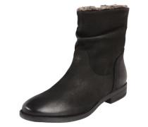 Ankle Boots 'Camilia-F' aus Leder schwarz