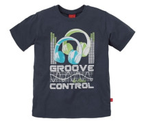 T-Shirt für Jungen blau / grün / weiß