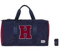 Handtasche 'tommy Duffle H' navy / rot