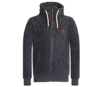Zipped Jacket Der Gedudelte III grau