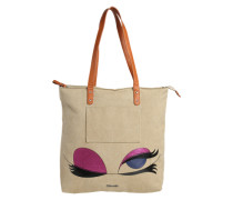 Shopping Tasche 'Sole' beige