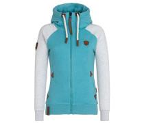 Zipped Jacket 'Mach Klar Jetzt' blau
