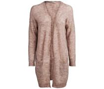 Woll-Strickjacke pink
