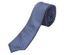 Seiden-Krawatte marine