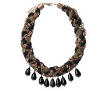 Statement-Halskette schwarz