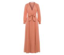 Kleid 'Wrap Dress' apricot