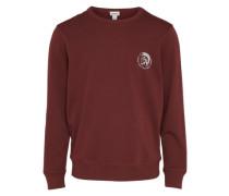 Sweatshirt 'umlt - Willy' mit Marken-Print
