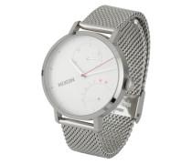 Armbanduhr 'Clutch' silber